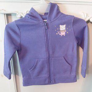 Purple Cat Hoodie